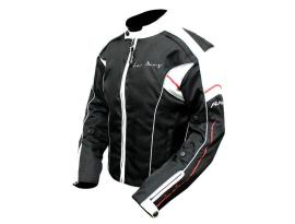 Rjays Lemans 3 Ladies Black Red Jacket