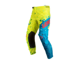 Leatt 2018 GPX 4.5 Lime Teal Pants