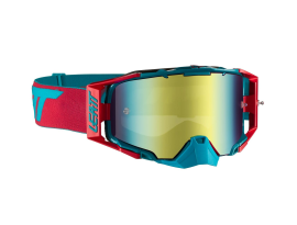 Leatt Velocity 6.5 Iriz Red Teal Blue Goggles UC 25%