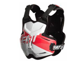 Leatt 2018 2.5 Rox White Red Chest Protector
