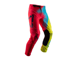 Leatt 2019 GPX 4.5 Red Lime Pants