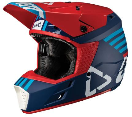 Leatt 2019 GPX 3.5 Ink/Blue Helmet