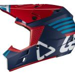 Leatt 2019 GPX 3.5 Ink/Blue Helmet Left Side View
