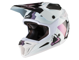 Leatt 2019 GPX 5.5 Helmet - White/Black