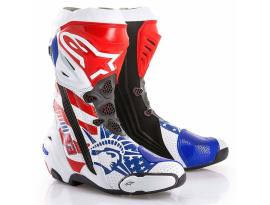 Alpinestars LE Supertech R Boots Red White Blue