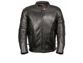 Milwaukee Men's Side Lace Vented Scooter Jacket