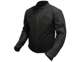 Scorpion Custom Midnight Leather Jacket