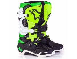 Alpinestars 2017 LE Vegas Tech 10 Black Green Boots