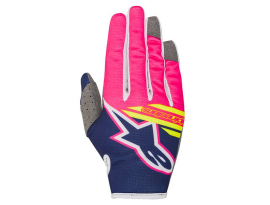 Alpinestars 2018 Radar Flight Blue Pink Gloves- Youth