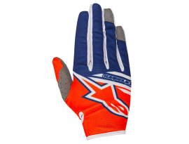 Alpinestars 2018 Radar Flight Orange Blue Gloves