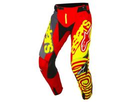 Alpinestars 2018 Techstar Venom Red Yellow Pants