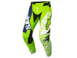 Alpinestars 2018 Techstar Venom Green Blue Pants