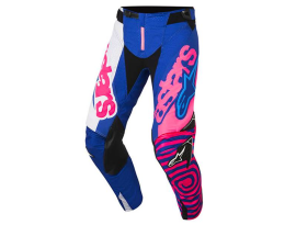 Alpinestars 2018 Youth Racer Venom Blue Pink Pants