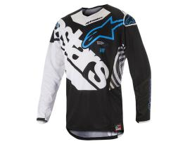 Alpinestars 2018 Techstar Venom Black White Jersey