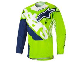Alpinestars 2018 Techstar Venom Green Blue Jersey