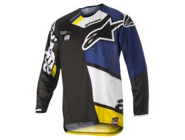 Alpinestars 2018 Techstar Factory Black Blue Jersey
