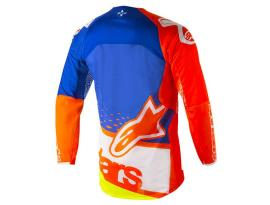 Alpinestars 2018 Techstar Factory Orange Blue Jersey