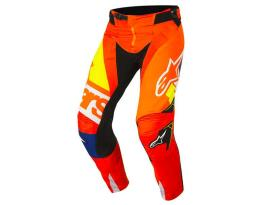 Alpinestars 2018 Techstar Factory Orange Blue Pants