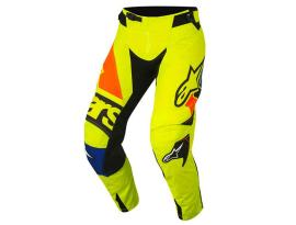 Alpinestars 2018 Techstar Factory Yellow Blue Pants