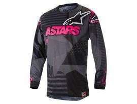Alpinestars 2018 Tactical Black Pink Jersey