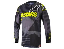 Alpinestars 2018 Tactical Black Yellow Jersey