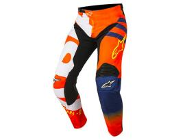 Alpinestars 2018 Racer Braap Orange Blue Pants