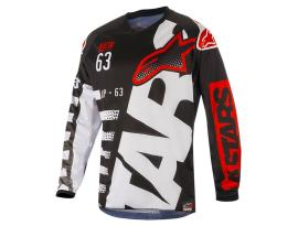 Alpinestars 2018 Racer Braap Black White Jersey