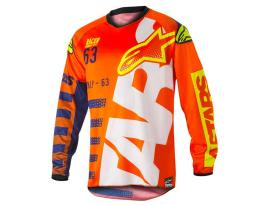 Alpinestars 2018 Racer Braap Orange Blue Jersey