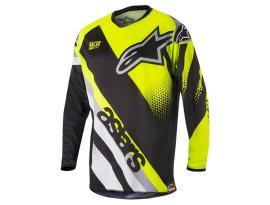 Alpinestars 2018 Racer Supermatic Black Yellow Jersey