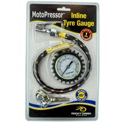 MotoPressor 45 Degree Tyre Gauge