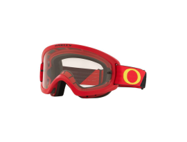 Oakley XS O-Frame 2.0 Pro B1B Yellow/Red Goggles w/Clear Hi Impact Lens