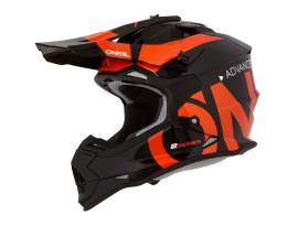 Oneal 2021 Youth 2 Series Slick Black Orange Helmet