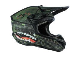 Oneal 2021 5 Series Warhawk Black Green Helmet