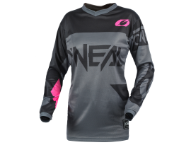 Oneal 2021 Youth Element Racewear Grey Pink Jersey