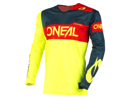 Oneal 2021 Airwear Freez Yellow Blue Red Jersey