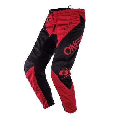 Oneal 2020 Youth Element Racewear Black Red Pants