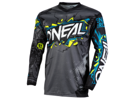 Oneal 2021 Youth Element Villain  Grey Jersey