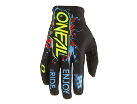 Oneal 2021 Youth Matrix Villain Black Gloves