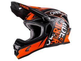 Oneal 3 Series Fuel Black/Orange Helmet 2017 - Adult