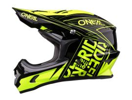 Oneal 3 Series Fuel Black/Hi-Viz Helmet 2017 - Adult