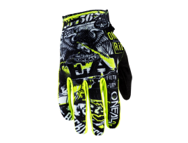 Oneal 2021 Matrix Attack Black Yellow Gloves