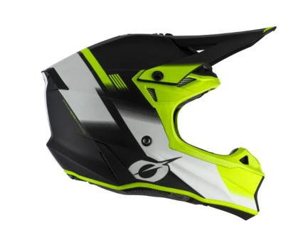 Oneal 2020 10 Series Blur Ipex Black and Yellow Helmet