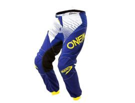 Oneal 2018 Youth Element Racewear Blue Yellow Pants
