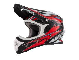 Oneal 3 Series Hurricane Red/Black Helmet 2016 - Adult