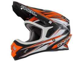 Oneal 3 Series Hurricane Orange Helmet 2016 - Adult