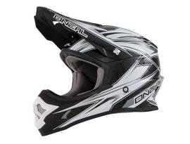 Oneal 3 Series Hurricane Black/White Helmet 2016 - Adult