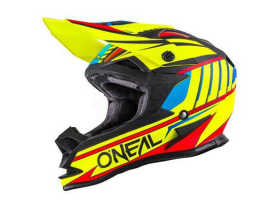 Oneal 2017 Chaser 7 Series Hi Viz Red Yellow Helmet