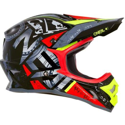 Oneal 2019 3 Series Helium Red Helmet