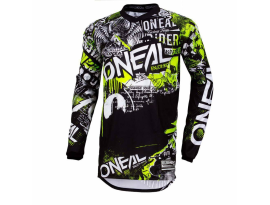 Oneal 2019 Element Attack Black Hi Viz Jersey
