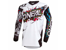 Oneal 2019 Element Villain White Jersey